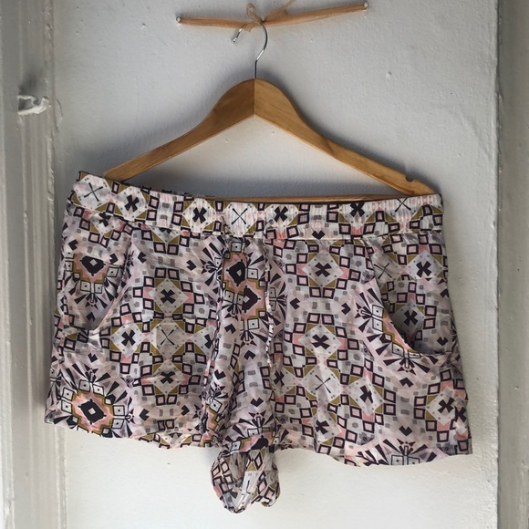 French Connection Pants - French Connection tribal shorts